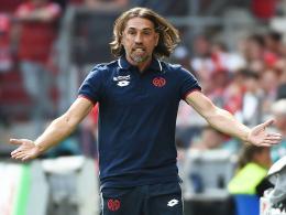Hatte des Öfteren Grund, unzufrieden zu sein: Der Mainzer Chefcoach Martin Schmidt.
