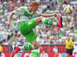 Auf dem Absprung? Manchester City wirbt weiter hartnäckig um Wolfsburgs Kevin De Bruyne.
