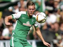 """""""Ich bin bereit"""": Bremens Neuzugang Aron Johannsson würde gerne schon in Berlin in der Startelf stehen."""
