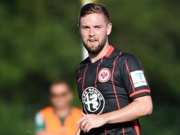 Wartet weiter auf sein Saisondebüt: Frankfurts am Oberschenkel verletzter Marc Stendera.