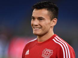 Steht vor seinem Debüt im Bayer-Trikot: Leverkusens chilenischer Neuzugang Charles Aranguiz.