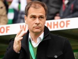 """Werder Bremen sei """"gut aufgestellt"""", trotz neuem Minus: Klaus Filbry, Vorsitzender der Geschäftsführung."""