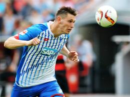 """""""Wir gehen selbstbewusst in die Bayern-Partie"""": Hoffenheims Innenverteidiger Niklas Süle."""