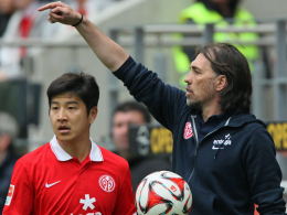 Dürfte gegen Gladbach Schmidts erste Wahl hinten links sein: Joo-Ho Park (li.).