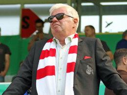 Kölns Präsident Werner Spinner