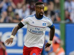 Muskelfaserriss: Johan Djourou verletzte sich gegen Stuttgart.