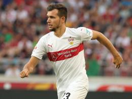 Neustart in Paderborn bahnt sich an: Stuttgarts Kevin Stöger.