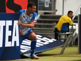 Hat einen schweren Stand bei der TSG: Hoffenheims Angreifer Adam Szalai.