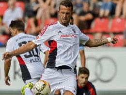 Erlitt einen Nasenbeinbruch: Ingolstadts Stürmer Tomas Pekhart.