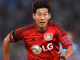 Auf nach London: Leverkusens Angreifer Heung-Min Son zieht's zu Tottenham Hotspur.