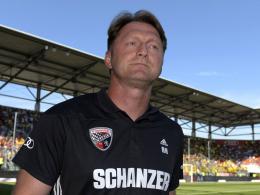 Keine Angst vor Augsburg: FCI-Coach Ralph Hasenhüttl.
