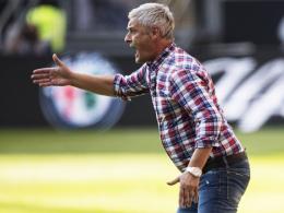 Eine bewegte Karriere: Eintracht Frankfurts Coach Armin Veh.