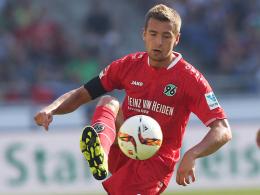 Gute Bilanz gegen den FSV Mainz: Hannovers Angreifer Artur Sobiech.