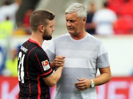 Rückkehrer: Frankfurts Trainer Armin Veh kann wieder auf seinen Youngster Marc Stendera bauen.