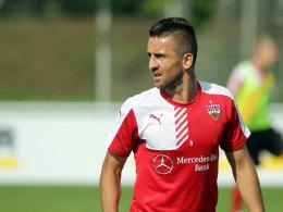 Will die Trainingskluft endlich wieder gegen ein Trikot eintauschen: Vedad Ibisevic wechselt von Stuttgart nach Berlin.