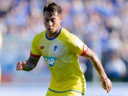 Unauffälliges Debüt: Hoffenheims chilenischer Neuzugang Eduardo Vargas.