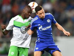 Bald Teamkollegen in Wolfsburg? Schalkes Julian Draxler (re.) und Josuha Guilavogui.