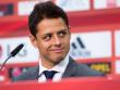 Bayers neuer St�rmerstar: Javier Hernandez, genannt Chicharito, kam von Manchester United nach Leverkusen.