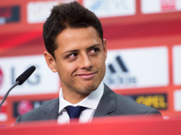 Bayers neuer Stürmerstar: Javier Hernandez, genannt Chicharito, kam von Manchester United nach Leverkusen.