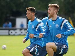 Mesut Özil (links) und Marco Reus