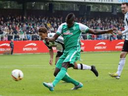 Lukimya trifft - Werder erledigt Pflichtaufgabe
