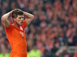 Hat mit der Elftal nur noch geringe Chancen auf die EM in Frankreich: Schalkes Klaas-Jan Huntelaar.
