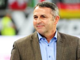 Wolfsburgs Manager Klaus Allofs