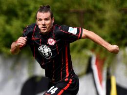 Rückkehr in den Bundesliga-Kader: Eintracht Frankfurts Kapitän Alex Meier.