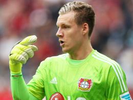 Ist wieder fit: Bayer Leverkusens Torhüter Bernd Leno.