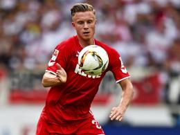 Überzeugte bei seinem Debüt in Horst Hrubeschs U-21-Team links in der Abwehrkette: Kölns Yannick Gerhardt.
