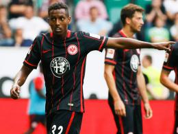 Hat das Vertrauen seines Trainers Armin Veh: Frankfurts 19-jähriger Offensivspieler Joel Gerezgiher.
