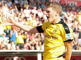 Defensiv stark, offensiv beeindruckend: Dortmunds Aushilfs-Rechtsverteidiger Matthias Ginter.