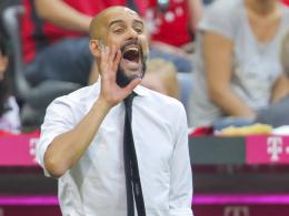 Bayern-Coach Pep Guardiola