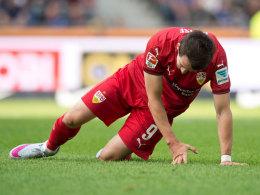 Hoffnungstr�ger Kruse fehlt dem VfB vier Wochen