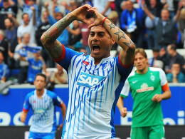 """""""Er hat gezeigt, dass er uns helfen kann"""", sagt Hoffenheims Trainer Markus Gisdol über Neuzugang Eduardo Vargas."""