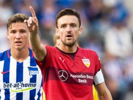 """""""Der Teamgeist ist gut"""": Stuttgarts Kapitän Christian Gentner."""
