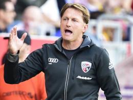 """""""Wir müssen Woche für Woche an unsere Grenzen gehen"""": Ingolstadts Trainer Ralph Hasenhüttl."""