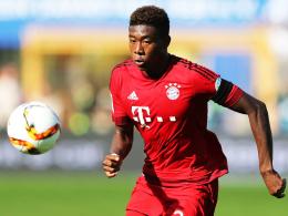 Seine Flexibilität macht ihn zur Waffe: Bayerns Allrounder David Alaba.