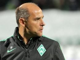 Blickt zurück auf die Rückrunde der Vorsaison: Werder-Trainer Viktor Skripnik.