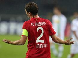 Hatte auch keine wirkliche Erklärung für Augsburgs schwachen Auftritt in Mönchengladbach: Kapitän Paul Verhaegh.