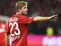 Muss sich erst noch weiter auf Schmidts System einstellen: Leverkusens Christoph Kramer.