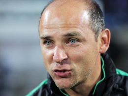 """""""Einen Gegner wie Bayer 04 nimmt keiner auf die leichte Schulter"""": Werder-Coach Viktor Skripnik."""