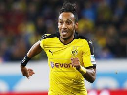 Startelf-Garantie gegen Darmstadt: Borussia Dortmunds Toptorjäger Pierre-Emerick Aubameyang.