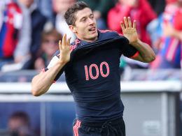 100 Bundesligatore bejubelte Robert Lewandowski zwischenzeitlich in Mainz - nun sind es gar 101.