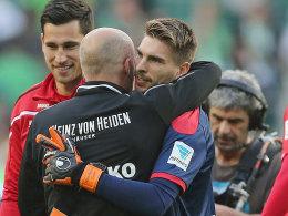 Hannover Keeper Ron-Robert Zieler.
