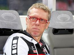 Kritisiert die Erwartungshaltung rund um den FC: Kölns Trainer Peter Stöger.