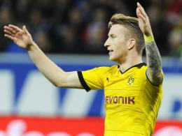 Fand weder auf dem Flügel noch im Sturmzentrum statt: Dortmunds Nationalspieler Marco Reus.