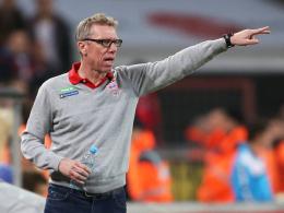 Darf auf einen Einsatz von Marcel Risse hoffen: Kölns Trainer Peter Stöger.