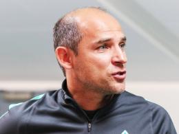 """""""Ich bin fest überzeugt, dass die Jungs eine Reaktion zeigen"""": Bremens Trainer Viktor Skripnik."""