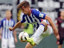 Fit für die Hertha - aber nicht für die Schweiz? Herthas Valentin Stocker.
